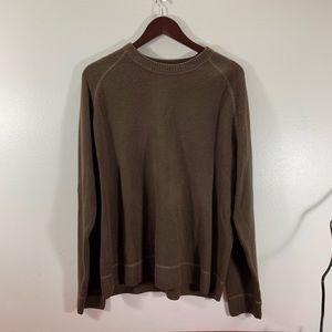 Aeropostal Men's XL Brown Sweater